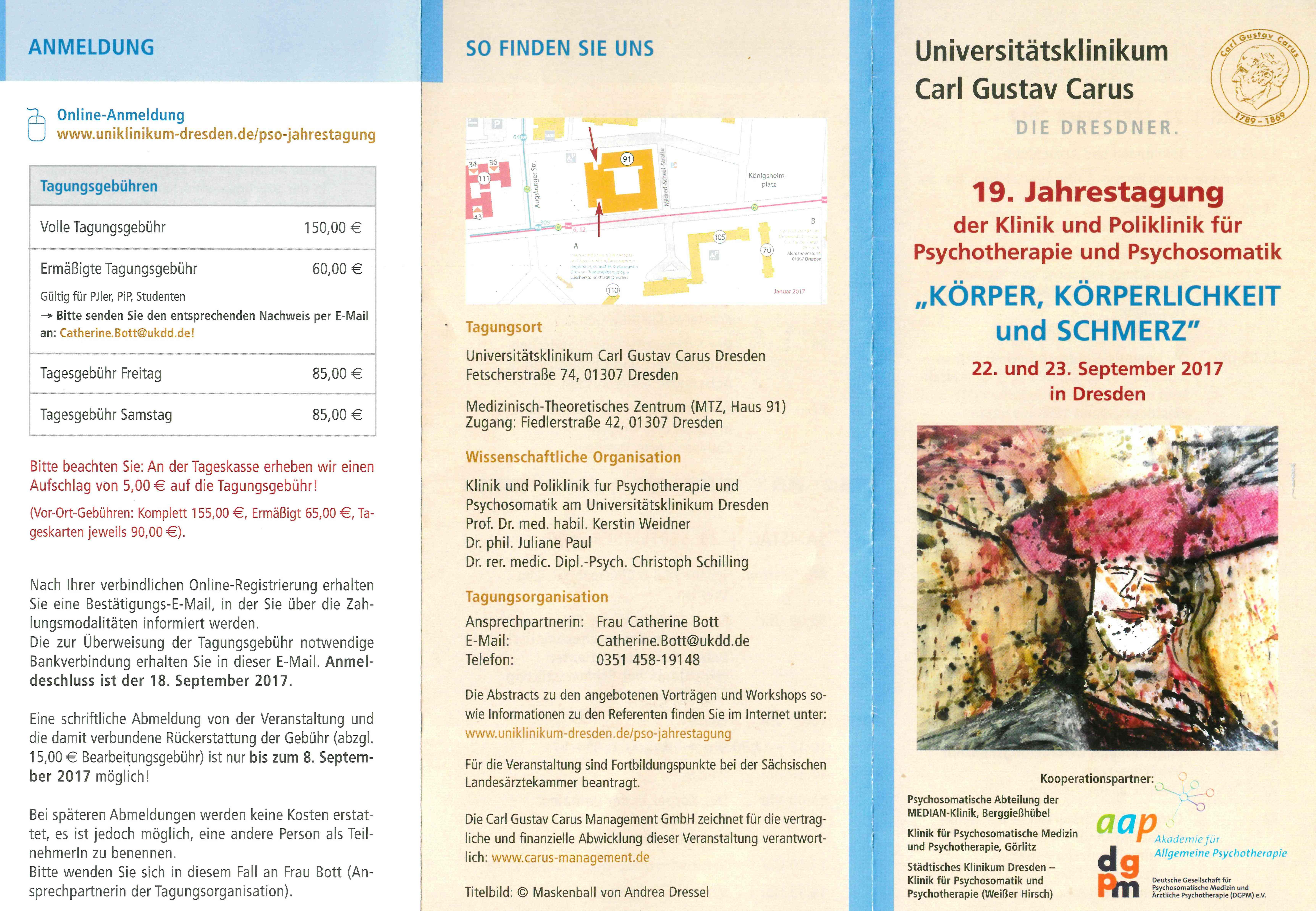 19. Jahrestagung Unikl. Dresden